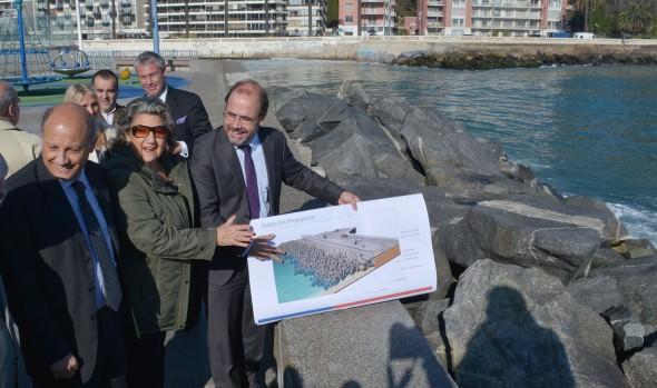 Ministerio de Obras Públicas propuso alternativa para mitigar efectos de marejadas en Av. Perú