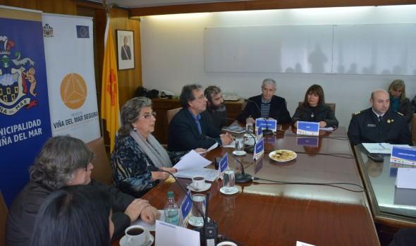 Trabajo en gestión de riesgo que se desarrolla en Viña del Mar destacó alcaldesa Virginia Reginato