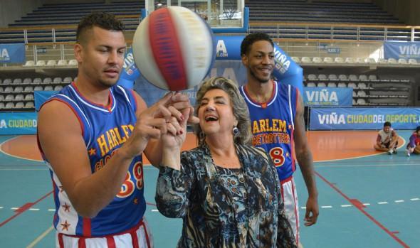 Afamado equipo Harlem Globetrotters se presentan en Viña del Mar, reiteró  alcaldesa Virginia Reginato