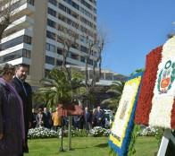 Con llamado a la unidad entre los pueblos latinoamericanos, alcaldesa Virginia Reginato encabezó día Nacional del Perú