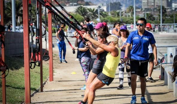 Vuelven las mañanas fitness a Viña del Mar, informó alcaldesa Virginia Reginato