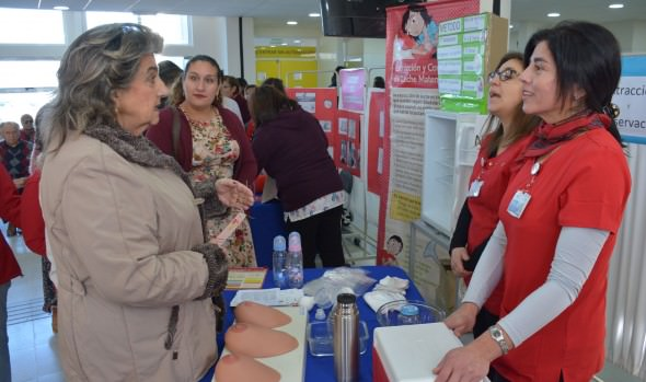 Centros de Salud de Viña del Mar  y alcaldesa Virginia Reginato promueven la lactancia materna