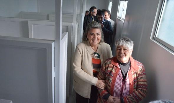 Nuevas dependencias para Feria parque Caupolicán de Viña del Mar inauguró  alcaldesa Virginia Reginato y autoridaes regionales