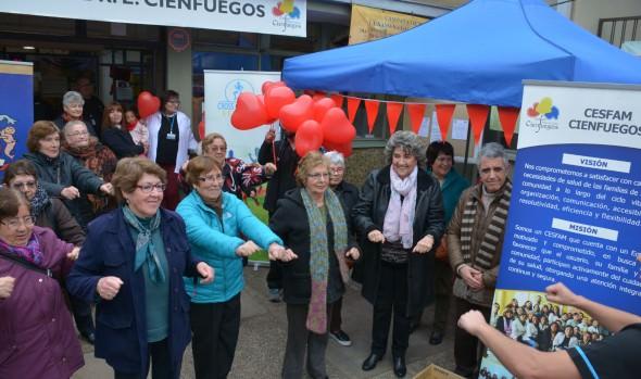 Municipio de Viña del Mar adhiere al mes del corazón incentivando el deporte y alimentación saludable