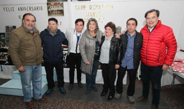 CD Manuel Rodríguez celebro 64 años de existencia en ceremonia encabezada por alcaldesa Virginia Reginato