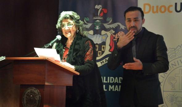 Municipio de Viña del Mar implementa video en lengua de señas para el museo Palacio Rioja