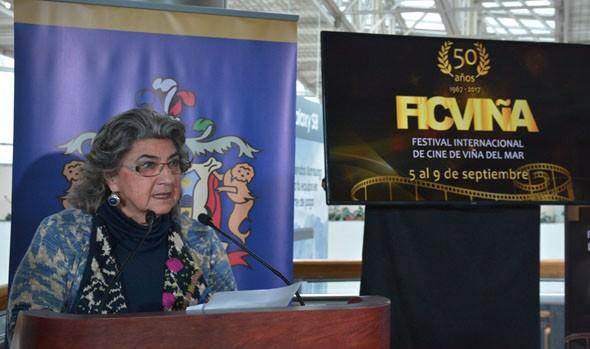 Alcaldesa Virginia Reginato, destaca los 50 años del FIC Viña del Mar