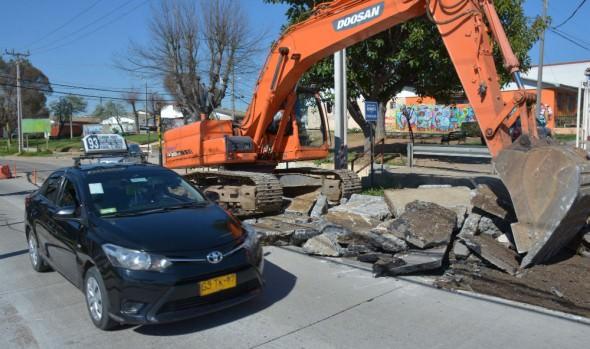 Municipalidad de Viña del Mar informa el reinicio de las obras para finalizar reposición de Av. Gómez Carreño