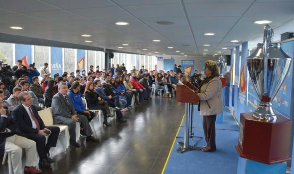 13ª Olimpiada escolar y 8ª Olimpiada interempresas  y servicios públicos de Viña del Mar fueron inauguradas por alcaldesa Virginia Reginato