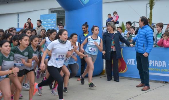Cross country y futbolito damas dieron inicio a olimpiada escolar y olimpiada interempresas