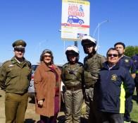 Llamado al autocuidado para prevenir robos en automóviles reiteró alcaldesa Virginia Reginato