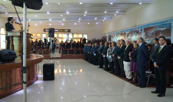 En Te Deum evangélico  que unió a comunidad regional para orar por la Patria, participó alcaldesa Virginia Reginato