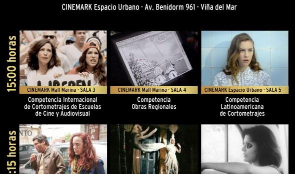 Música de películas y homenajes marcaron inauguración de FicViña en el aniversario de sus 50 años
