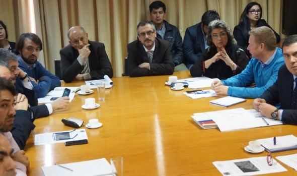 Coordinación para abordar mejoramiento  de Av. España fue valorado por alcaldesa Virginia Reginato