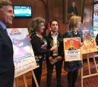 Al ganador del creador de afiche  El Derby 2018 premió alcaldesa Virginia Reginato