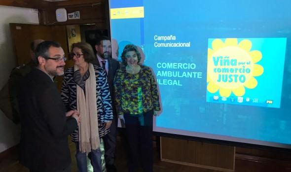 Municipio de Viña del Mar iniciará campaña de concientización para evitar compras en la calle
