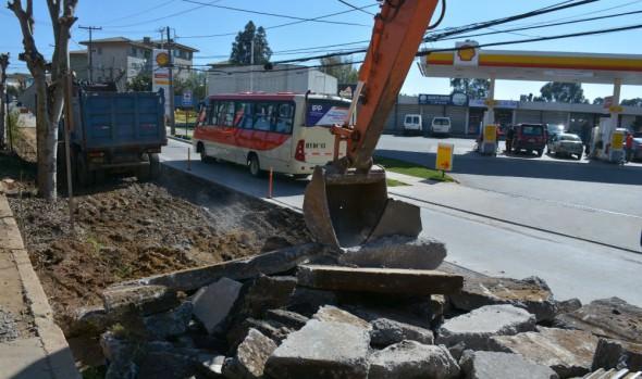 Municipio de Viña del Mar adopta medidas por nueva fase de trabajos en Gómez Carreño