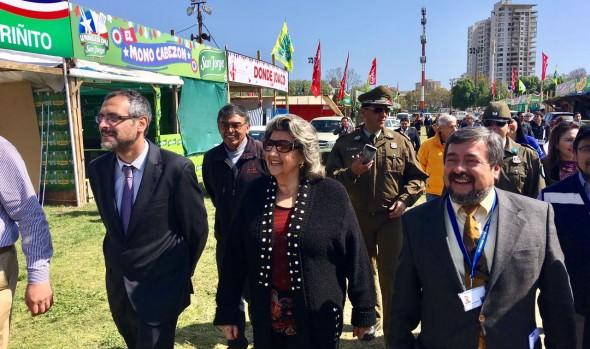 Instalaciones del Sporting para celebración de fiestas patrias fiscalizó alcaldesa Virginia Reginato