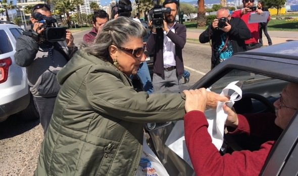 Campaña preventiva para el uso responsable de las vías públicas en Viña del Mar encabezó alcaldesa Virginia Reginato