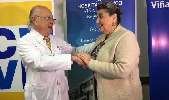 Municipio de Viña del Mar  firma convenio con hospital Clínico para realización de 200 mamografías