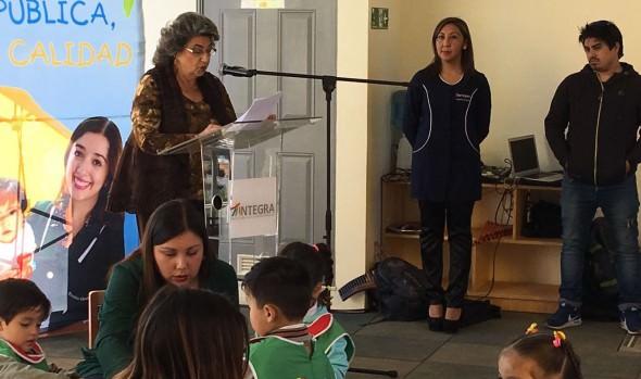 Inauguración de nueva Sala Cuna y jardín infantil de Reñaca Alto valoró alcaldesa Virginia Reginato