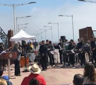 Gran atractivo generó intervención urbana organizada por la Municipalidad de Viña del Mar en Muelle Vergara