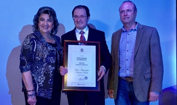 Viña del Mar distingue a  instituciones y personas por su aporte en el ámbito turístico