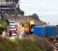 Municipio de Viña del Mar valora avance de reparación en socavón de Playa Las Cañitas
