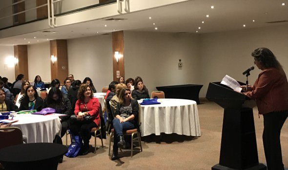 En primera jornada regional del  programa Chile Crece Contigo participó  alcaldesa Virginia Reginato