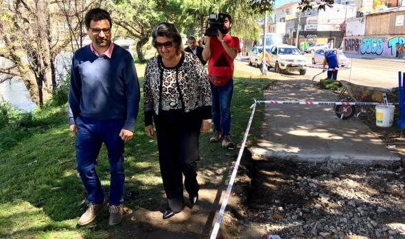 Municipio de Viña del Mar mejora  transitado circuito peatonal en el plan