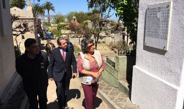 Labores de mantención de  cementerio Santa Inés fueron inspeccionadas por alcaldesa Virginia Reginato