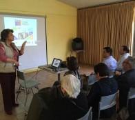 Beneficiados de pavimentos participativos conocieron proyectos en reunión con alcaldesa Virginia Reginato
