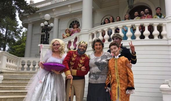 """Municipalidad de Viña del Mar invita a  presenciar musical """"Zapatilla de Cristal"""" en la Quinta Vergara"""