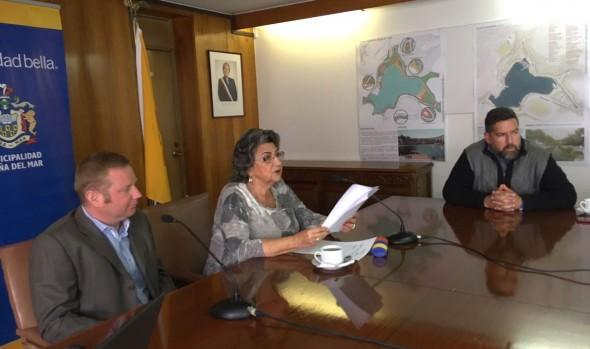 """Municipalidad de Viña del Mar presentó diseños del proyecto """"Parque ribereño de Sausalito"""""""