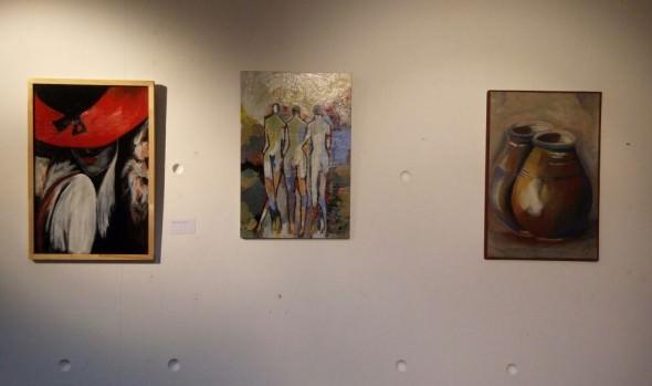 Delegación Municipal de Reñaca exhibe obras de alumnas de taller de pintura