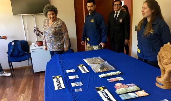 Alcaldesa Virginia Reginato destaca diligencia de PDI que desbarató red de microtráfico