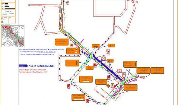 Municipalidad de Viña del Mar informa desvíos de tránsito por pavimentación  de último tramo de Av. Gómez Carreño