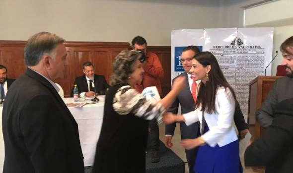 En presentación de hoja de ruta de APEC 2019 participó alcaldesa Virginia Reginato