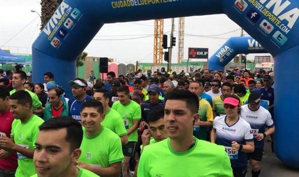 Un millar de personas participaron en última fecha de las Corridas Familiares 2017, que organiza la Municipalidad de Viña del Mar
