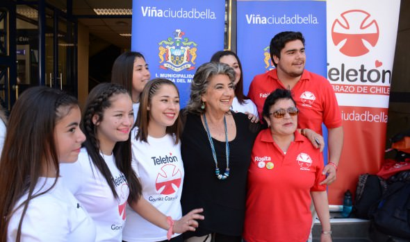 Con diferentes actividades municipio de Viña del Mar apoya la Teletón 2017