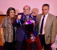 Universidad Santo Tomás obtuvo principal trofeo de juegos Odesup, el que fue entregado por  alcaldesa Virginia Reginato