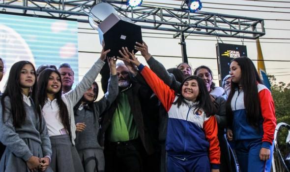 Premiación de XIII Olimpiada Escolar fue encabezada por alcaldesa Virginia Reginato