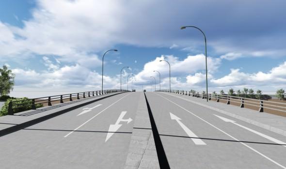 Alcaldesa Virginia Reginato valoró asignación de recursos para construcción de puente Los Castaños