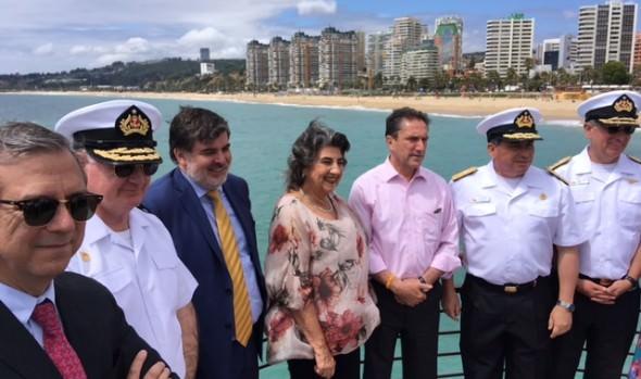 Con llamado a la autoprotección se inició en Viña del Mar temporada de playas 2017-2018
