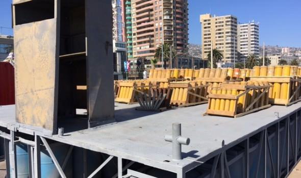 Preparativos de espectáculo Año Nuevo en Viña del Mar están en etapa final