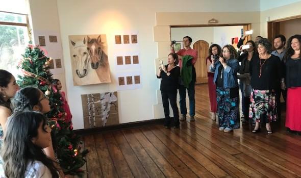 Casa de las Artes de Viña del Mar realizó feria y conciertos de Navidad