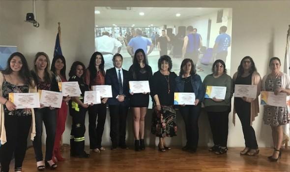 Vecinos de Viña del Mar cursaron con éxito escuela de Seguridad Ciudadana