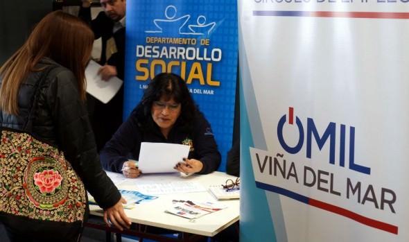 Municipalidad de Viña del Mar ofrece más de 250 puestos de trabajo  a través de OMIL