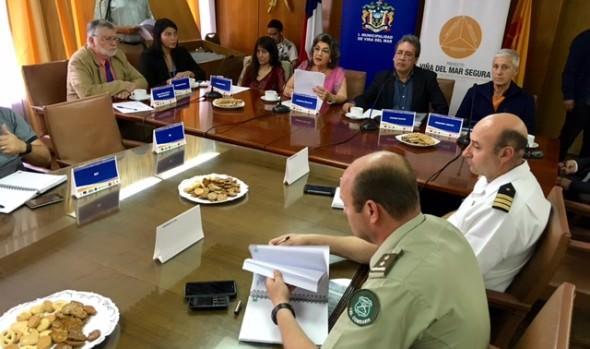 Énfasis en planes de invierno e incendios forestales marcó trabajo anual de mesa de prevención de riesgos impulsada por alcaldesa  Virginia Reginato