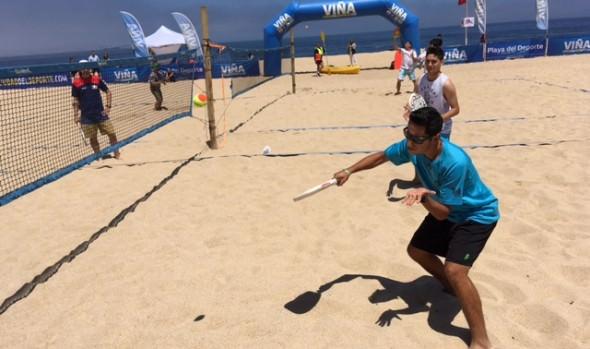Playa del Deporte para el verano 2018 fue inaugurada por alcaldesa Virginia Reginato